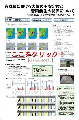 宮城県における大気の不安定度と雷雨発生の関係について